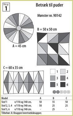 Stof  Stil - Betræk til puder - 90142  http://www.stofogstil.dk/Katalog/Monstre.aspx?group_id=9121#