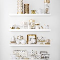 """""""We have a #shelfie full of ideas for New Year's Eve hostess gifts. #MyHomeSense"""""""