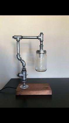 Lampe de bureau pour le tuyau bocal à par DurangoUrbanLighting