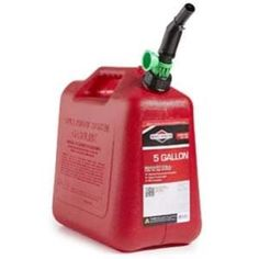COSY-Plastic Fuel Tank Motor Gasoline Tank Leakproof Corrosion Resistant Heater Tank 5L Capacity 2 Holes