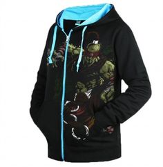 League of Legends Lee Sin zip up hoodies for men