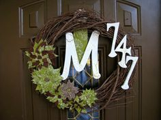 The Paisley Wreath Great Personalized by AshleyElleDesigns on Etsy, $50.00