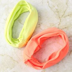 Neon Yoga Stretch Headbands