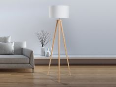 Stehlampe weiss - Standlampe - Leselampe - Stehleuchte - Standleuchte - Beleuchtung - NITRA Kauf ohne Risiko auf Rechnung mit 100 Tage Rückgaberecht