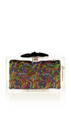 Pandora Bow Clutch by Charlotte Olympia Now Available on Moda Operandi