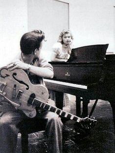 1959 EDDIE COCHRAN Rockabilly Singer 8x10 Photo SMILING COLOR CLOSE-UP