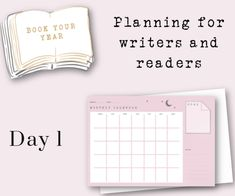 Day 1 Book Your Year | The Monthly Challenge
