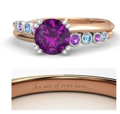 Disney princess rings: Anna from Frozen.
