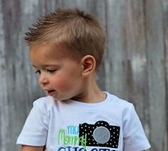 boys rocker haircut