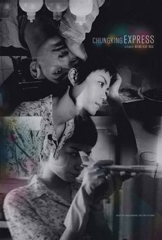 Chungking Express alternative movie poster by TheArtOfAdamJuresko