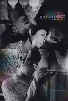 Chungking Express alternative movie poster by TheArtOfAdamJuresko