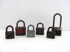 20% off SALE...Paris LOVE LOCKS. Vintage instant collection of rustic padlocks on Etsy, $28.00