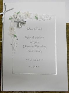 60th wedding anniversary cards verses