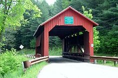 Vermont's landscape is dotted with covered bridges. http://www.coveredbridgemap.com/vt/