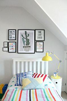 kid's room on a budget
