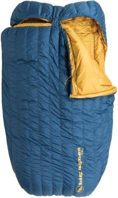 Big Agnes King Solomon 15 Double Sleeping Bag Blue Double