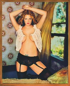 Paige phillips hot model sexy boobs 24x18 print poster