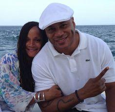 LL Cool J & wife Simone