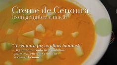 Creme de cenoura - Ingrediente Secreto