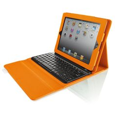 Bluetooth Keyboard with Tech-Grip Case for iPad® Tablets