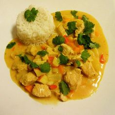Indonesian Cuisine, Thai Recipes, Bali, Thai Red Curry, Stew, Risotto, Food And Drink, Chicken, Dinner