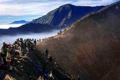 Голодная гора. Экскурсия на вулкан Бромо