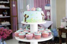 Torre-cupcakes passarinhos manoelaj@gmail.com