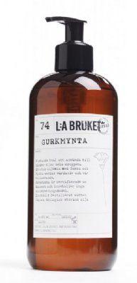 L:a+Bruket+flytande+tvål+Gurkmynta