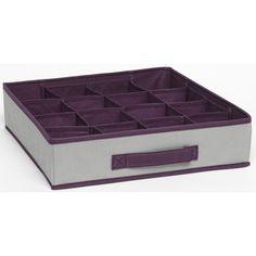 huayang 3pcs bo te de rangement pour les sous v tements les soutien gorges rangement sous. Black Bedroom Furniture Sets. Home Design Ideas