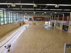 La nuova #pavimentazione sportiva Dalla Riva Sportfloors installata in #Germania è un modello Playwood S. 14