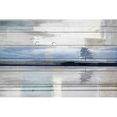 Found it at Wayfair - 'Shimmering Reflection' by Parvez Taj Painting Print