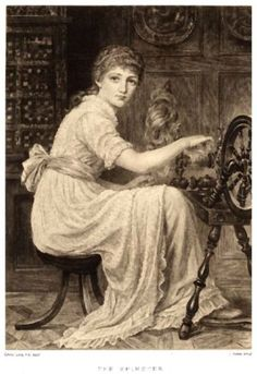 Handspinning is the art of twisting fiber, fleece, or roving of wool, silk, alpaca, angora, mohair, flax, etc. into a continuous thread by using a spinning wheel or drop spindle.