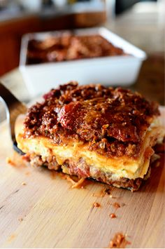 Lasagna, of course.