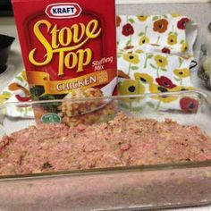 SECRET INGREDIENT MEATLOAF Meatloaf Recipes, Meat Recipes, Cooking Recipes, Hamburger Recipes, Recipies, Healthy Recipes, Meatloaf Sandwich, Stuffing Mix, Keto