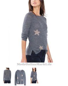 04056896906090 | #ESPRIT #Damen #Pullover #096EE1I011, #Mehrfarbig #(Grey #Blue #5 #424), #34 #(Herstellergröße: #XS)