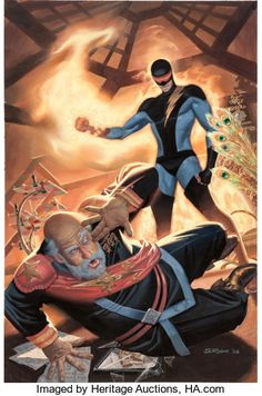 Original Comic Art:Paintings, Steve Rude Nexus Archives #3 Cover Painting Original Art(Dark Horse, 2006) - W.B.