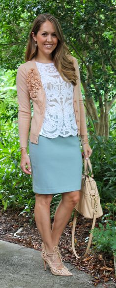 (WS-61) Today's Everyday Fashion: Scalloped Details (everything but the shoes)