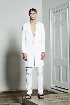 La collection printemps-été 2016 de la marque Berthold, vue à la London Collection Men de Londres.