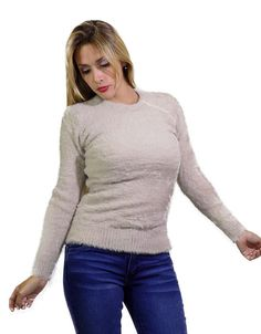 Sweater Crudo Pelo Suave $549.00 Turtle Neck, Sweaters, Fashion, Wraps, Hair, Moda, Fashion Styles, Sweater, Fashion Illustrations