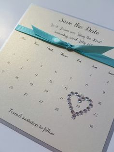 Calendar theme Wedding Save the Date with a turquoise aqua and silver colour sch. Calendar theme Wedding Save the Date with a turquoise aqua and silver colour sch. Teal And Grey Wedding, Aqua Wedding, Blue Save The Dates, Wedding Save The Dates, Country Wedding Colors, Calendar Themes, Teal Wedding Invitations, Marie, Inspiration