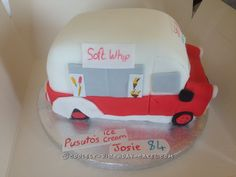 Coolest Ice Cream Truck Cake... Coolest Birthday Cake Ideas