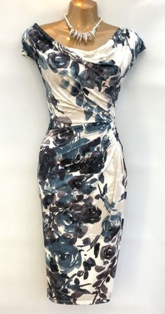 "3d931d37 Gorgeous phase eight size 12 ""gwen"" stunning occasion dress new with tags"