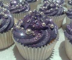Glitzy cupcakes