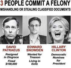 Snowden risked his LIFE to enlighten US; Hillary risked National Security to enrich HERSELF! Liberal Hypocrisy, Liberal Logic, Politicians, Political Memes, Funny Politics, Political Corruption, Political Figures, Conservative Politics, Truth Hurts