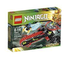 Amazon.com: LEGO Ninjago Warrior Bike 70501: Toys & Games