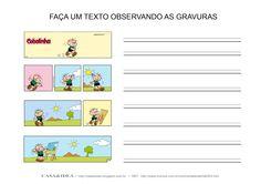 CASA: Produção de texto em Historia em Quadrinhos - Série: Apoio Educacional em Casa