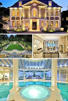 Luxury Villa Mahina - New Zealand Mansion Homes, Dream Mansion, Mansion Interior, Appartement New York, Expensive Houses, Big Houses, Fancy Houses, House Goals, Luxury Life