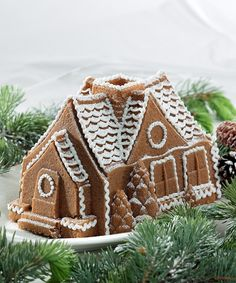 Gingerbread House Bundt Pan | Daily deals for moms, babies and kids