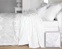 linge de lit effet dentelle - achat linge de maison, linge de lit, linge de toilette, décoration et mobilier becquet #becquet