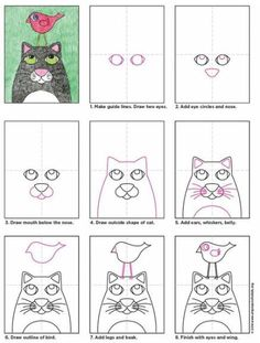 Scream Blow Painting (Art Projects for Kids) Cat Drawing, Drawing For Kids, Art For Kids, Drawing Ideas, Projects For Kids, Art Projects, 3rd Grade Art, Ecole Art, Art Lessons Elementary